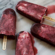 Cherry Lambic And Cream Popsicle