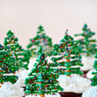 Chocolate Christmas Tree Cupcakes