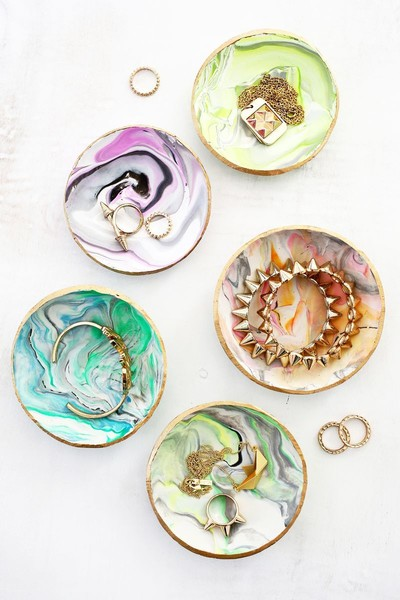Make Gorgeous Ring Dishes
