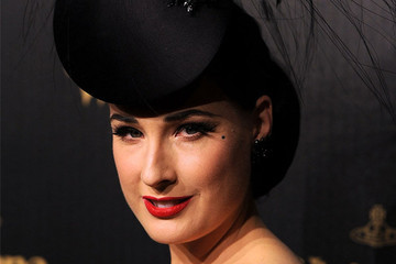 Dita Von Teese Does Her Own Hair and Makeup