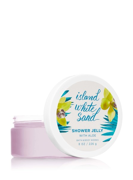 Bath & Body Works Island White Sand Shower Jelly