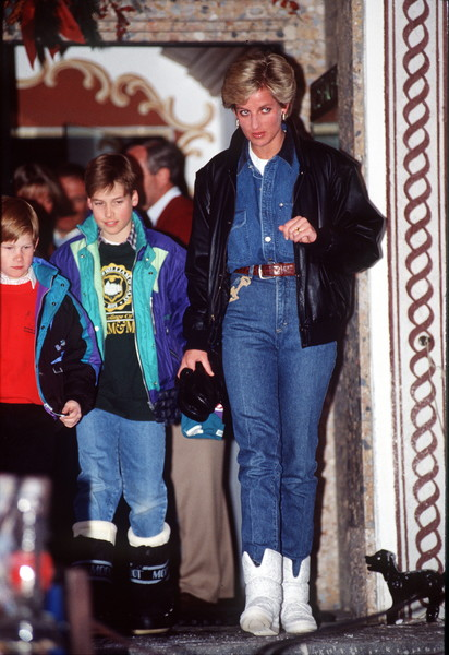 30 Times Princess Diana Was Ultra Casual But Ridiculously Chic