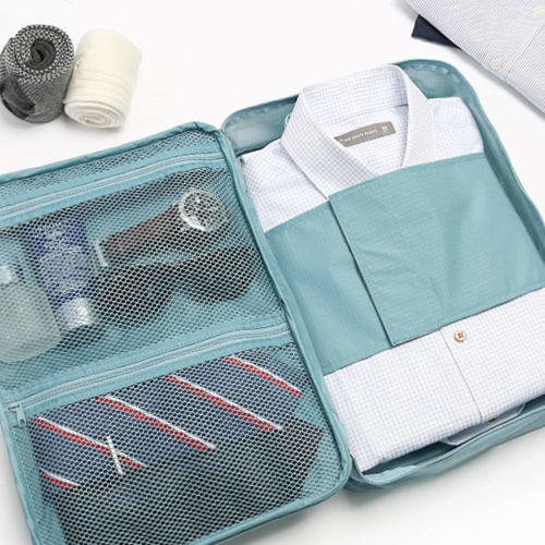 Business Travel Pouch Set: Business Travel Shirts Pouch