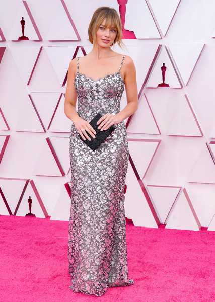 Margot Robbie At The 2021 Oscars