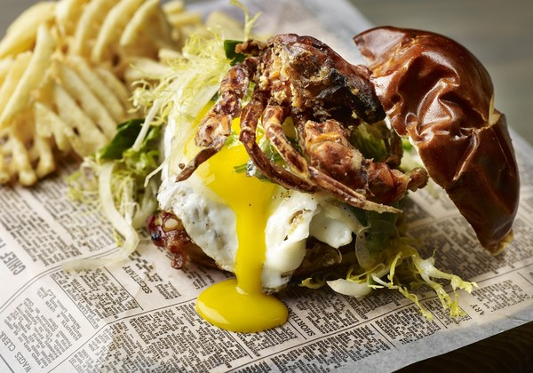 SURF & TURF BURGER – The Franklin Room (Chicago) - 28 Dishes That ...