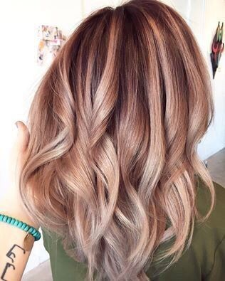 Rose Gold Ombré