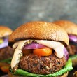 Grillable Veggie Burger
