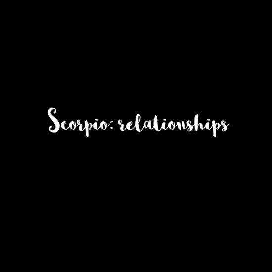 things you need to know about dating a scorpio They need to know what factors will let the scorpio know when options arose for you to betray them scorpio dating tip#35: just because a scorpio.