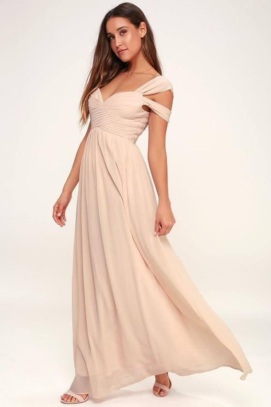 Blush Bridesmaid Dresses That Are Perfect For The Big Day