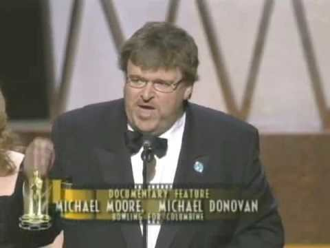 Michael Moore Spoke Out Against the Iraq War