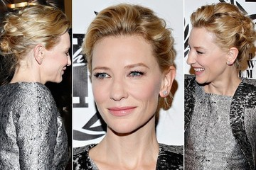 That's One Marvelously Messy Updo Cate Blanchett is Rocking