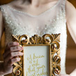 Cinderella Gold Framed Quote