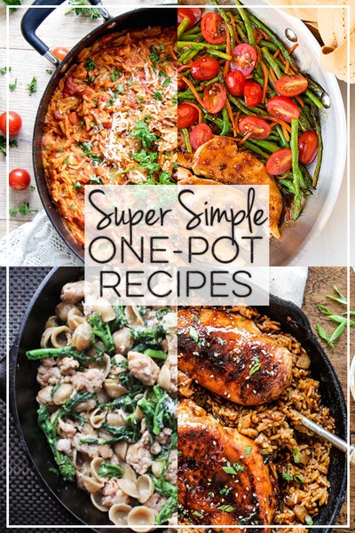 Super Simple One-Pot Recipes