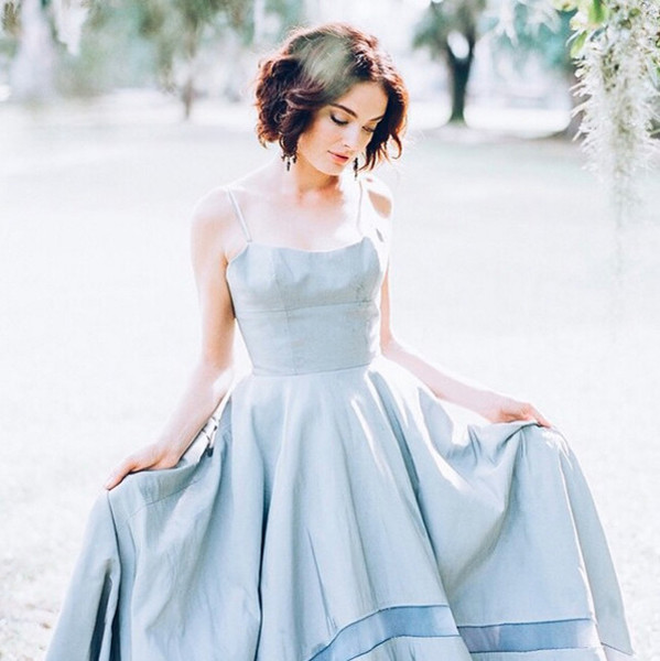 The Prettiest Blue Wedding Dresses on Instagram - Livingly