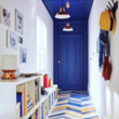 Electric Blue Entryway
