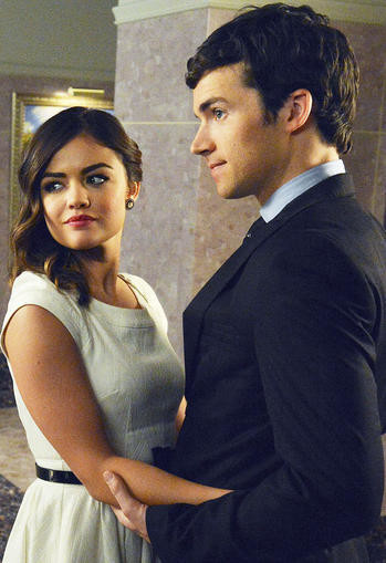 Aria And Ezra — 'Pretty Little Liars'