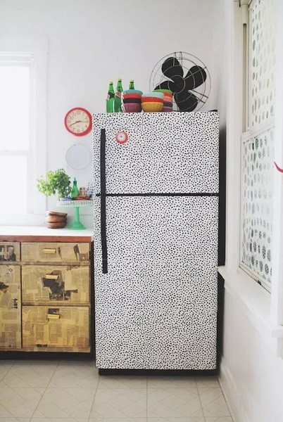 Cover Up Your Old Fridge