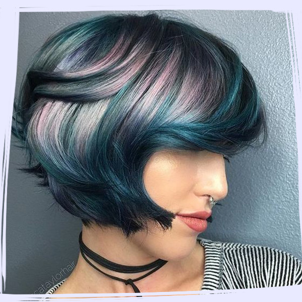 The Best Jewel Tone Hair on Pinterest
