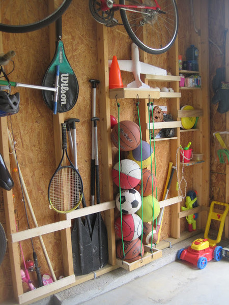 Organization Tip #28: Use The Space Between The Studs