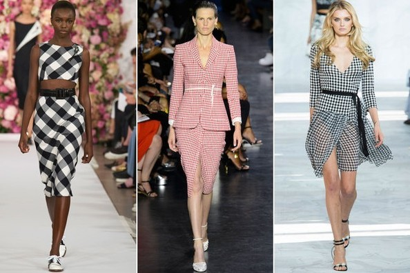 gingham top trends from new york fashion week spring 2015 livingly