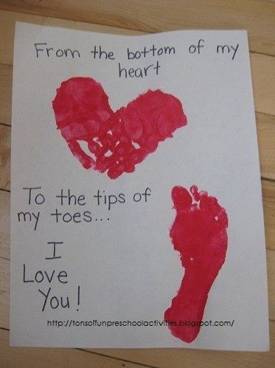 Capture those little hands and feet forever
