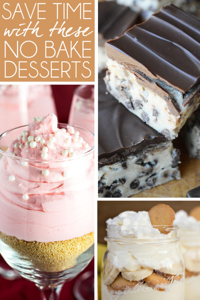 Start Saving Time with These No Bake Desserts
