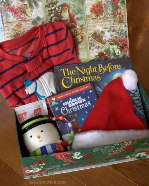Surprise your kids with a Christmas Eve box