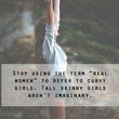 Real Women Quote