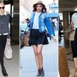 Celebrity Trend to Try: Jean Jackets and Black Skirts