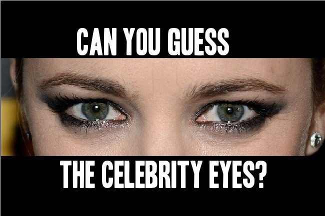 Guess the Celebrity Eyes Pictures Quiz Online With Answers