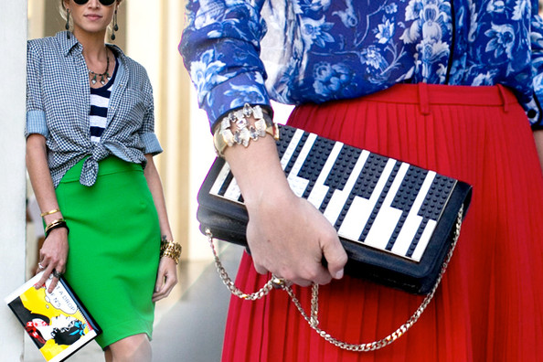 16 Ways to Work a Quirky Handbag