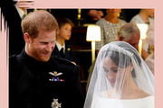The Best Pictures Of Prince Harry And Meghan Markle's Royal Wedding