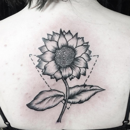 Geometric Sunflower