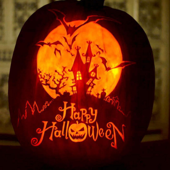 Happy Halloween Tips On Home Decoration 1: Creative Halloween Pumpkin Carving And