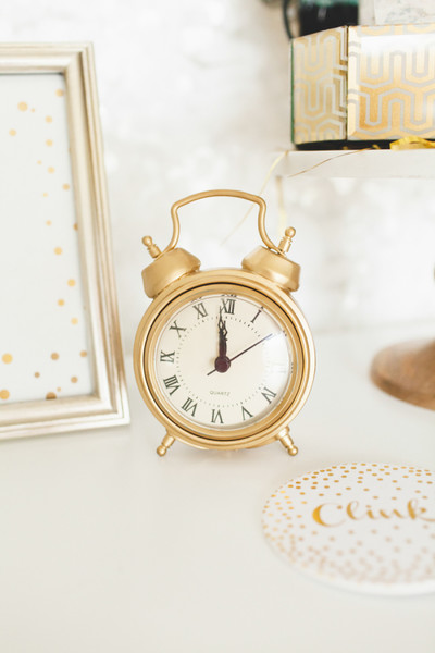 Gold Clocks