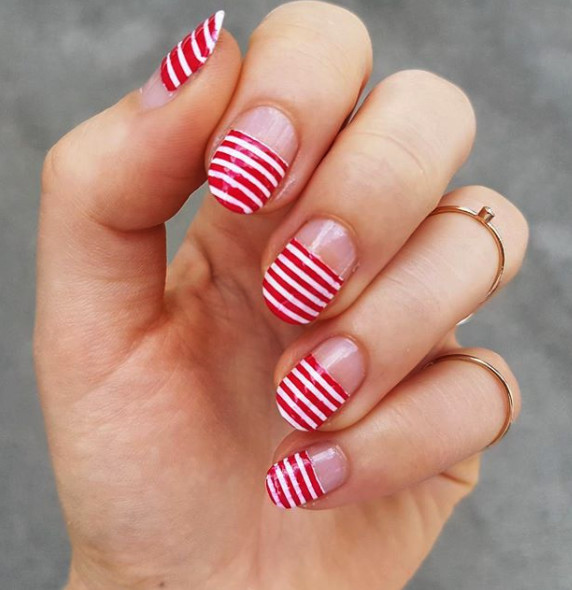 Red And White