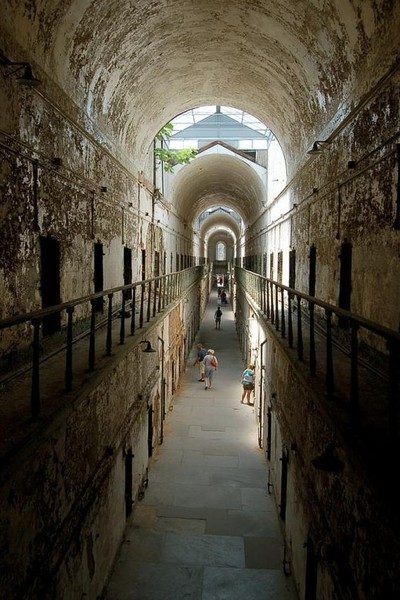 Eastern State Penitentiary in Philadelphia, PA