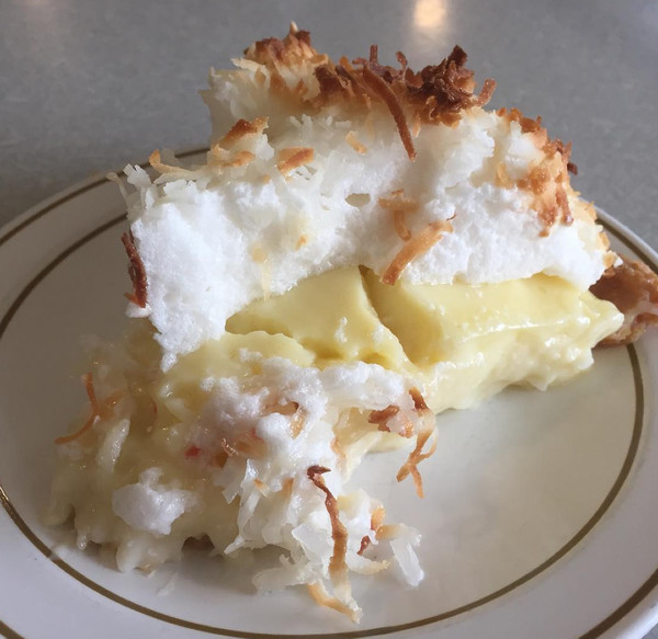 KANSAS: Coconut Cream Pie from Sommerset Hall in Dover