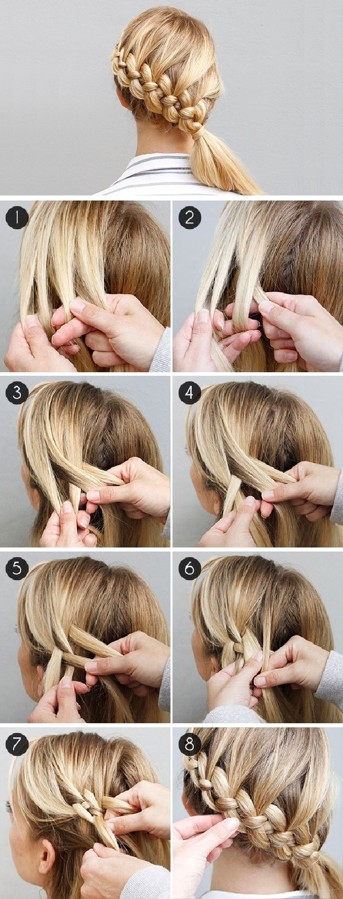 c86f439b2 Popular on Pinterest: The 4-Strand Dutch Braid - Hair How To - Livingly