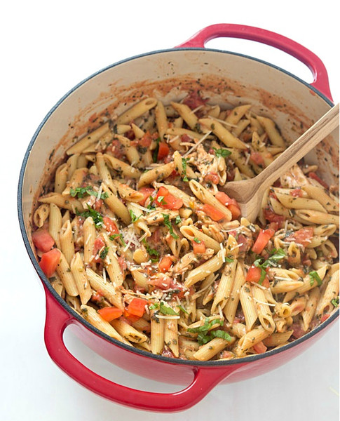 20-Minute Tuscan Chicken Penne