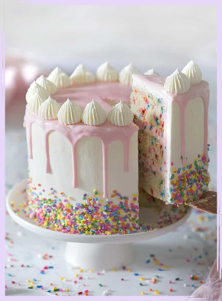 Peachy Pinterest Worthy Birthday Cakes You Can Actually Make Livingly Funny Birthday Cards Online Barepcheapnameinfo