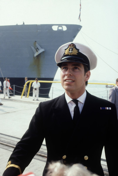 Then: Prince Andrew