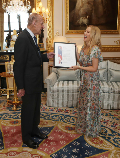 Prince Philip And Kylie Minogue