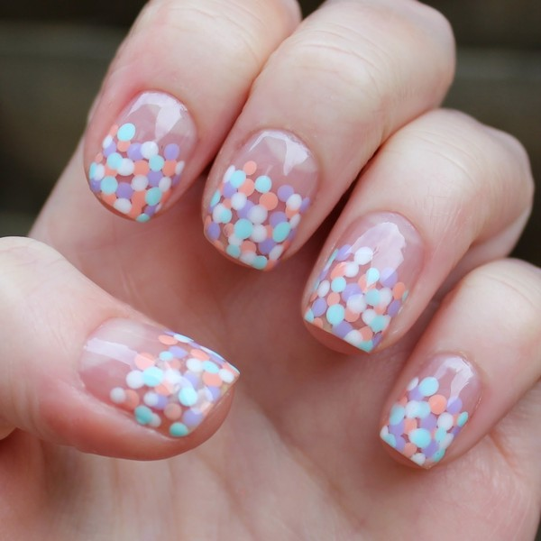 Seeing Spots The Best Easter Nail Art Livingly
