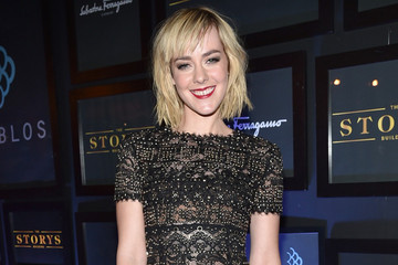 Jena Malone's Sexy Beaded Gown