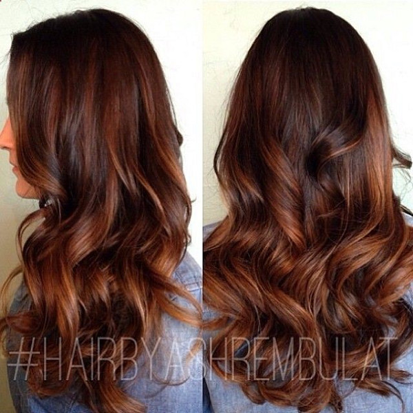 Honey Caramel The Top Hair Color Trend Of 2017 Is Hygge According