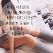 Processed Beauty Quote