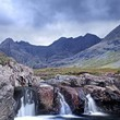 Fairy Pools and the Cuillins, Isle of Skye, Scotland