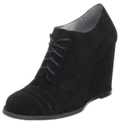 Vince Camuto Lace Up Wedge Bootie