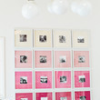 Ombre Gallery Wall